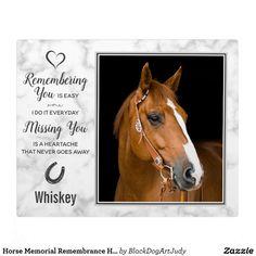 Easy Pets, Memorial Gifts, Memorial Quotes, Memorial Ideas, Personalized Photo Gifts, Horse Photos, Pet Loss, Unique Animals, Rainbow Bridge