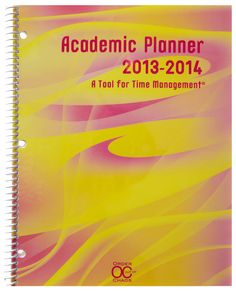 2013-2014 Academic Planner & Calendar Created by ADHD specialist, a great tool to keep ALL students organized...$18.00 Get one for your child and support them for the  school year...
