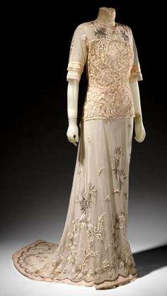 Vestito pomeridiano per il tea - epoca edoardiana 1912