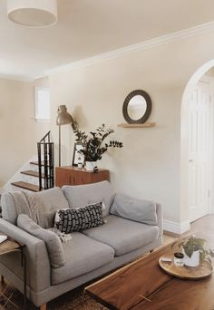 Stay-home Sunday is in full effect 🌿 | living room decor, living room design, living room ideas, living room inspiration, living room designs small spaces, living room furniture, modern living room, midcentury living room, minimal living room #livingroom #interiordesign #decor
