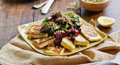 Haloumi with dukkah and beetroot salad - DIY, Gardening, Craft, Recipes & Renovating | Better Homes and Gardens Australia