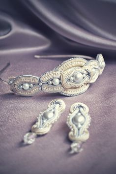soutache and bead crafting