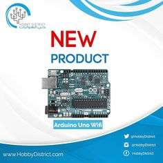 The brand new ARDUINO UNO WIFI just came in! Check it out: http://ift.tt/1TMAQAs  The Arduino Uno WiFi board is based on the ATmega328 & it has an integrated ESP8266 WiFi Module. If you are starting out with Arduino or starting with IoT this is the board to get. #Arduino #uno #wifi #project #projects #IoT #engineering #computer #electrical #programming #DIY #saudi by hobbydistrict