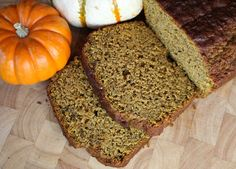 Spicy Whole Wheat Pumpkin-Banana Bread 5 Weight Watchers Points+
