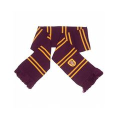 Knitted Harry Potter Gryffindor Scarf ($22) ❤ liked on Polyvore featuring accessories and scarves