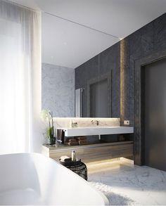 Renovering: Badrum i marmor 2.0