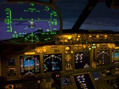 737-800 Heads up display