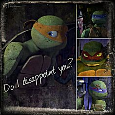 TMNT:: Mikey: Do I disappoint you? by ~Culinary-Alchemist on deviantART