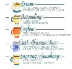 Brewing times and manufacturing methods can impact the taste of the tea. National Tea Day, Tea Party Menu, Lapsang Souchong, Afternoon Tea Parties, Tea Art, Tea Recipes, Party Recipes, Recipies, My Tea