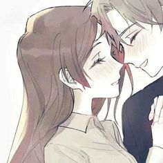 Cute Anime Profile Pictures, Matching Profile Pictures, Cute Anime Pics, Anime Couples Drawings, Anime Couples Manga, Kawaii Anime Girl, Anime Art Girl, Cute Anime Coupes, Anime Best Friends