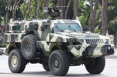 Marauder military vehicle