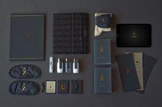 Zenith Premium Travel Kits - Brand Design by Veronica Cordero #stationery