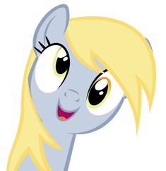 Derpy says, 'Derp' :D by Are-you-jealous on DeviantArt