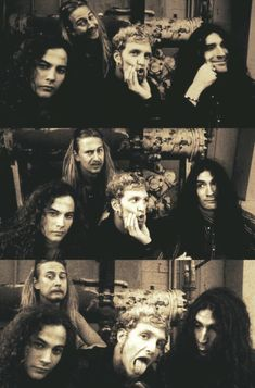 Alice in Chains. THE goofiest band and cutest Alice In Chains, Glam Rock, Hard Rock, Rock N Roll, Mike Inez, Mike Starr, Music Rock, Jerry Cantrell, Mad Season