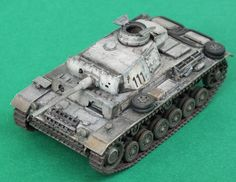 Pzkpfw III Ausf. L Revell 1/72 Winter Camouflage