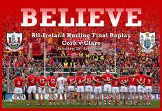 Believe!!! #RebelsAbu #CorkGAA13 #Cork #GAA #Hurling Cork, Ireland, Irish, Believe, Events, News, Irish Language, Corks