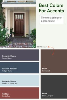 Popular Front Door Colors ten best front door colours for your house | front doors, doors