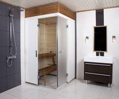 Harvia SmartFold – kylpyhuoneen tilankäytön uusi aikakausi Ota kylpyhuoneen neliöt tehokäyttöön! Harvian uusi kokoontaittuva ja muunneltava kylpyhuonesauna SmartFold käyttää lattiatilaa vain tarpeen mukaan. SmartFold on todellinen elämänkaarisauna, joka sopii kaikille käyttäjille, kaikkiin elämänvaiheisiin.