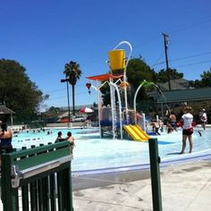 Rankin Aquatic Center - Kids area - Martinez, CA, United States