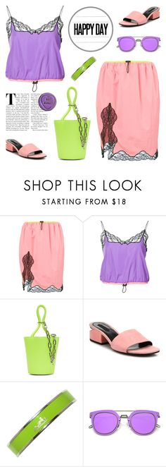"""Bright Spring"" by deepwinter ❤ liked on Polyvore featuring Alexander Wang, Hermès and ZeroUV"