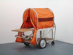 Homeless Vehicle, Variant 5 / Krzysztof Wodiczko / 1985