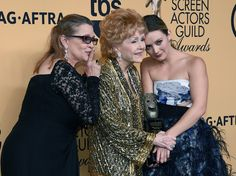 Debbie Reynolds Photos - 21st Annual Screen Actors Guild Awards - Press Room - Zimbio