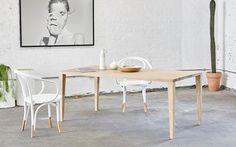 Valla Dining Table - Totem Road Minimalist Dining Room, Solid Oak, New Homes, Indoor, Interior Design, Room Interior, Furniture, Home Decor, Dining Tables