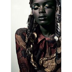Black Models Are Beautiful...TANZANIAN MODEL