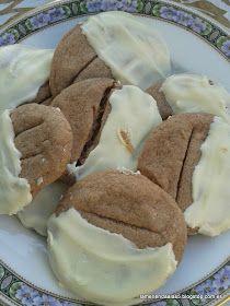 La merienda a las cinco: Galletas de dos chocolates, black choco cookies
