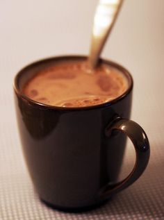 Try adding a mint tea bag to your hot chocolate -- you will never be the same! Its the BEST winter drink :)