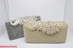 GOLD SILVER OR BLACK CRYSTAL DIAMANTE EVENING CLUTCH WEDDING PROM EID BAG
