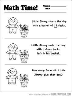 It's simple math…