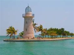 Boca Chita Key Lighthouse, Biscayne National Park, Florida