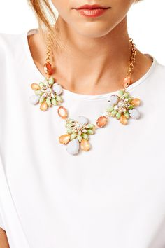 Spring Blossom Necklace by RJ Graziano