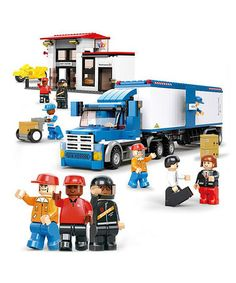 Take a look at this Heavy Duty Truck Blocks Set by Sluban on #zulily today!