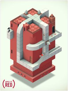 Monument Valley: One of the most awesome apps now donating 100% of the purchase price to (RED)