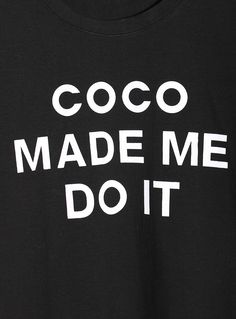 blame it on coco