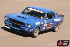 Mike Maier qualified for the 2015 #OUSCI in his 1966 #FordMustang at #DriveOPTIMA Las Vegas