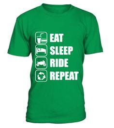 eat sleep ride  #image #shirt #gift #idea #hot #tshirt #motorcycle #biker