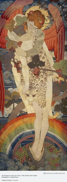 Phoebe Anna Traquair, The Progress of a Soul: The Victory (Dated 1902)