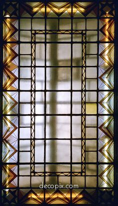 Decopix - The Art Deco Architecture Site - Art Deco Glass Gallery