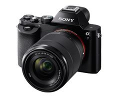 A full frame, professional camera in a super slim, compact body. Thank you Sony.