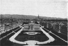 Park Tomislavac near Central train station in #zagreb 1903.