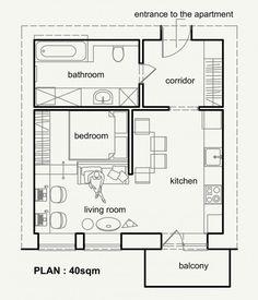 Um apartamento maior às vezes pode ser melhor, mas não é sempre uma opção, especialmente em cidades...