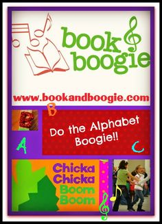Learn the Alphabet - Book and Boogie style!