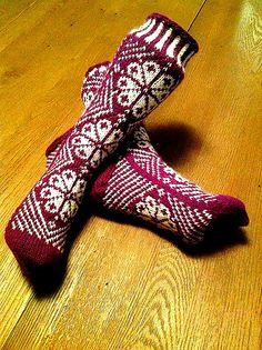 Ravelry: Kløver sokk pattern by Lill C. Schei