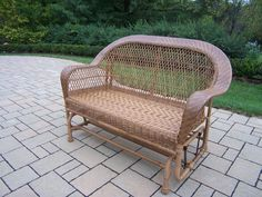 Coventry Wicker Glider