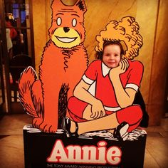 Annie at the Academy of Music in Philadelphia