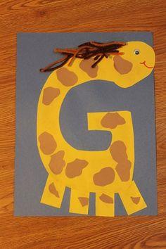 Tot School- Letter G activities