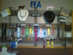 FFA memory wall. I want something like this for my kids some day soon